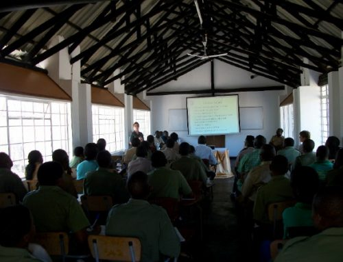 Wildlife Management Workshop at Mushandike Sanctuary